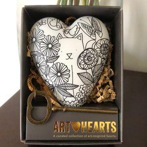 Demdaco - Cat Color Me - Art Heart